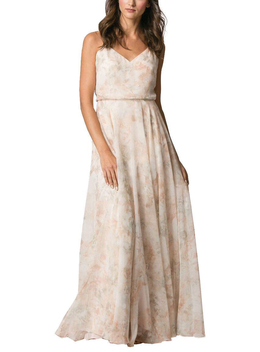 Floral print wedding dresses  Jenny Yoo Inesse Print Bridesmaid Dress  Wedding Ideas  Pinterest