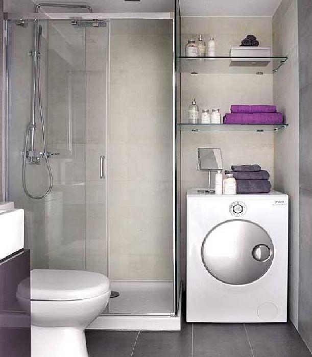 Example Of Bathroom With Laundry Unit Insidewe Would Our Laundry Best Small Bathroom Space Saving Ideas Inspiration