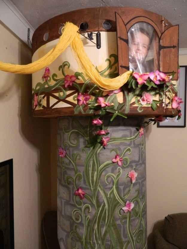 Best Diy Your Own Rapunzel S Tower Disney Princess Bedroom 640 x 480