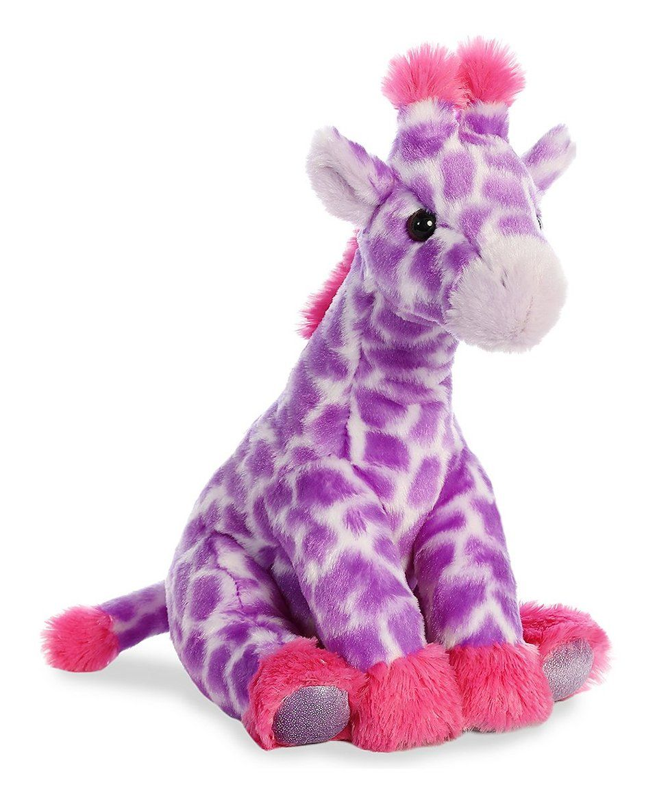 Take A Look At This 12 Purple Giraffe Plush Toy Today Kinder Wolle Kaufen Sachen