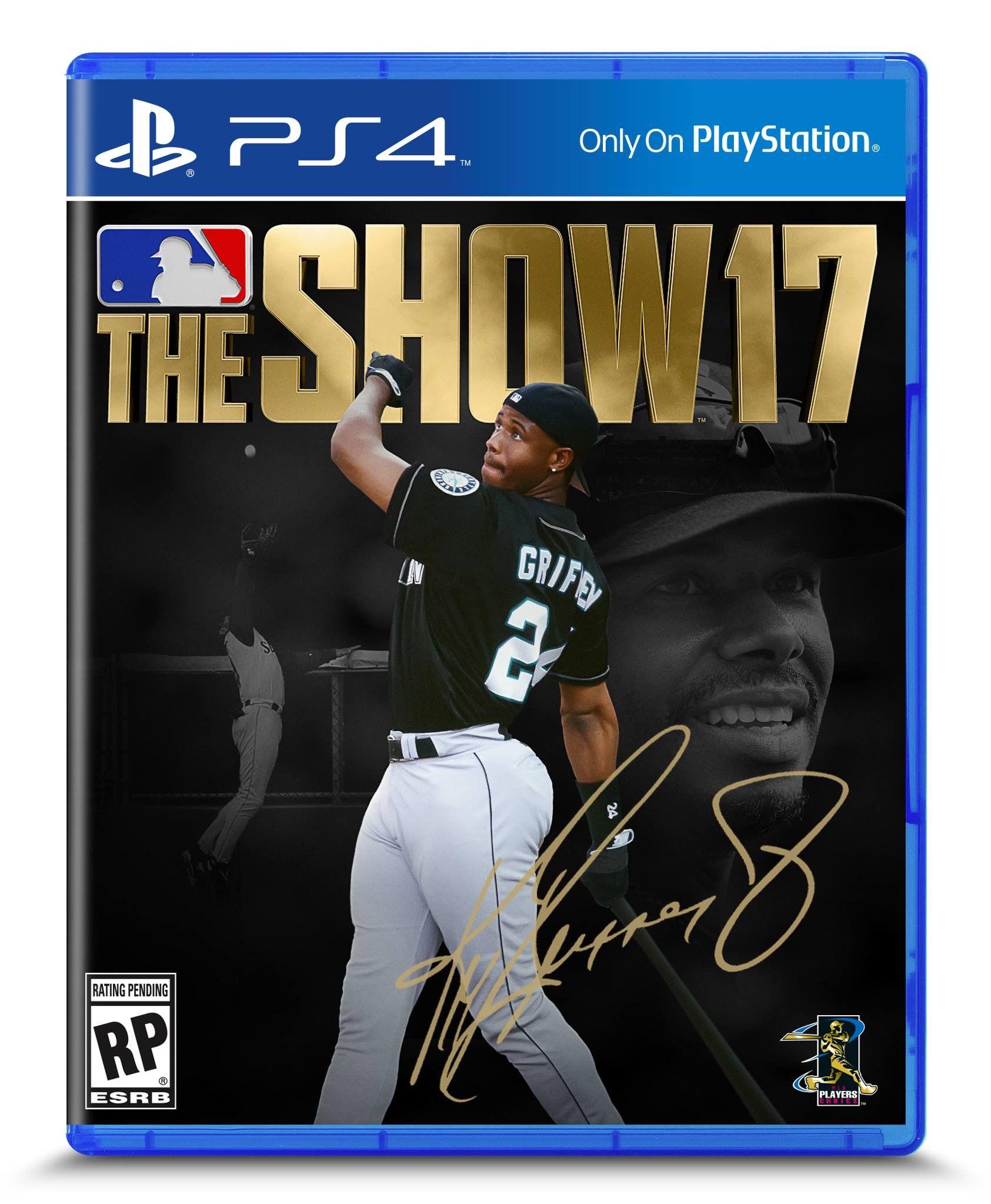 Ken Griffey Jr Mlb The Show Playstation Playstation 4