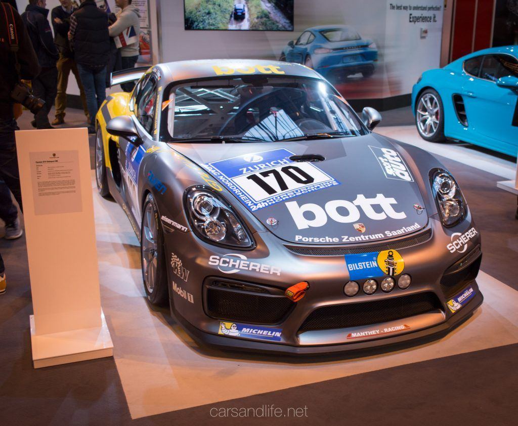 Autosport International 2017 Asi17 Porsche Cars Life Porsche Cayman Gt4 Fantasy Cars