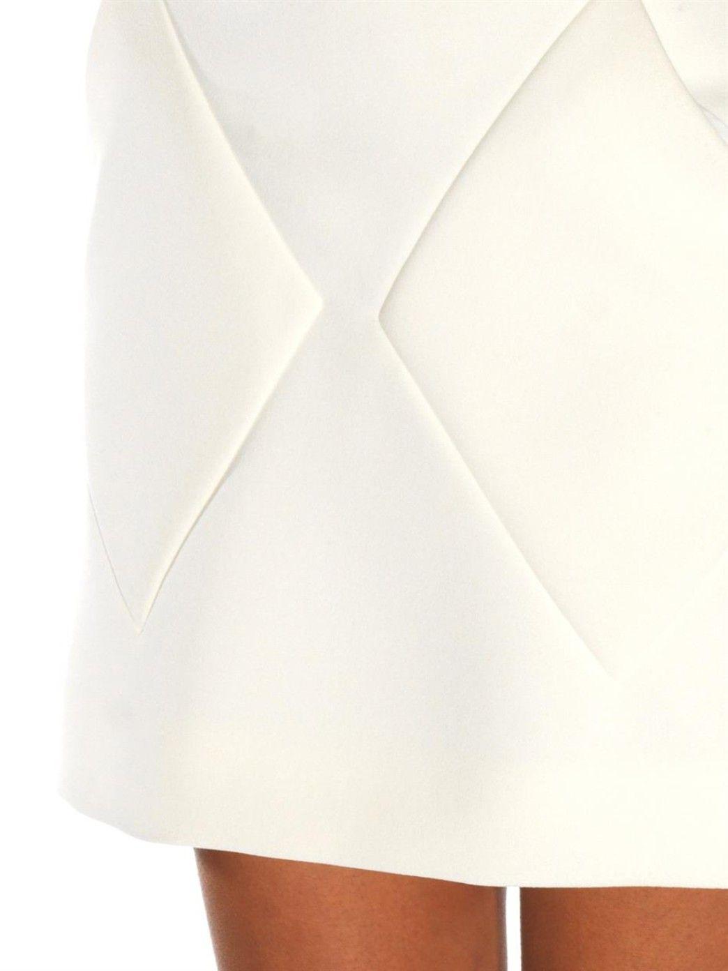 Diamond-seam mini skirt | Balenciaga | MATCHESFASHION.COM UK