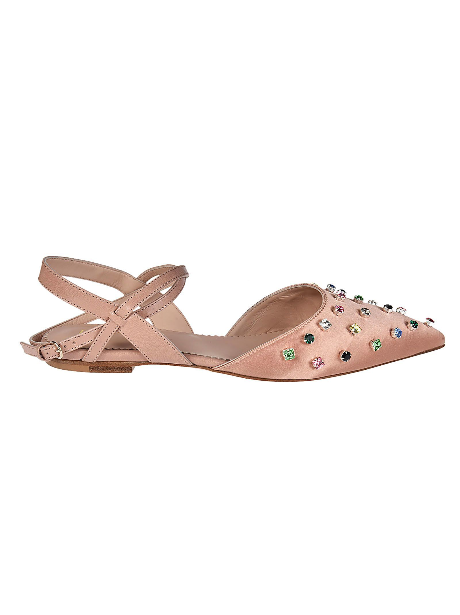Offer Wholesale Price Sale Online RED Valentino Embellished Flat Sandals qF5jydCZ3E