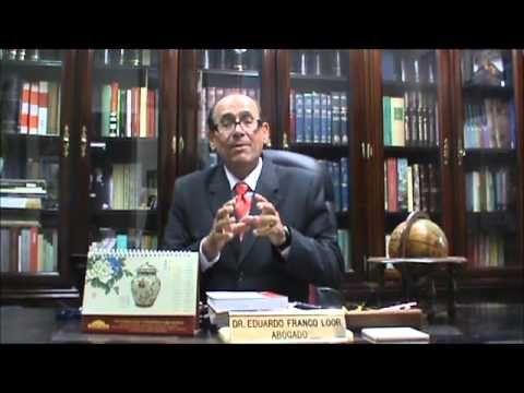Teoría de la Imputación Objetiva. Dr. Eduardo Franco Loor - YouTube