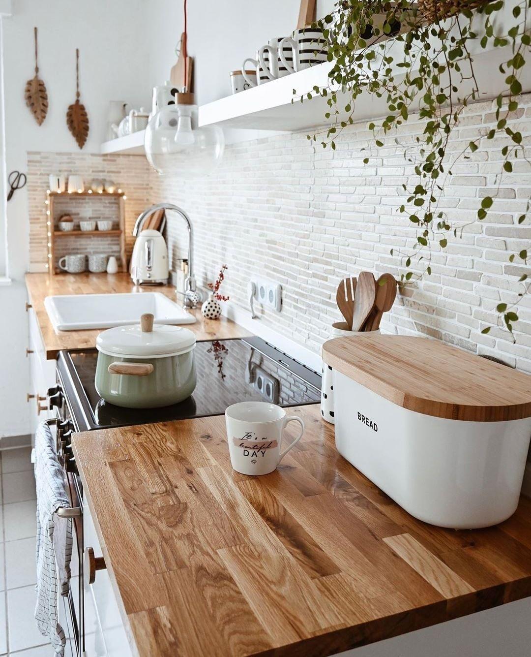 Home Decor Design On Instagram Such A Warm And Cozy Kitchen Style I Cozy Deco Home Decor Kitchen Kitchen Interior House Interior