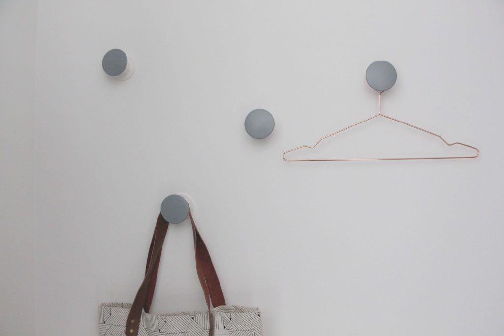 Schneller Ikea Hack Garderobenhaken In Grau Garderobenhaken