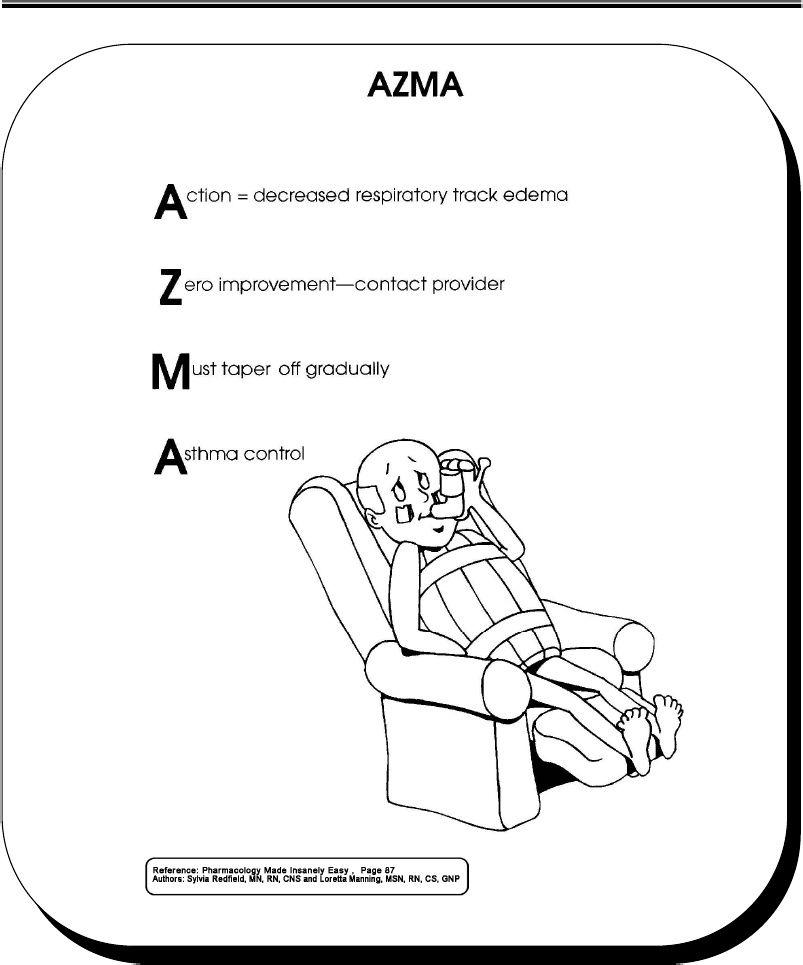 azma (asthma)   Pharmacology nursing, Nurse life, Pharmacology