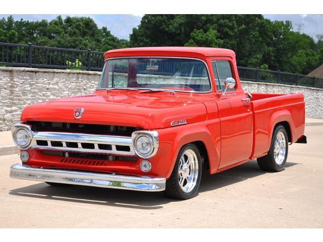 1957 F100 Custom Cab | Ford Trucks | Classic ford trucks