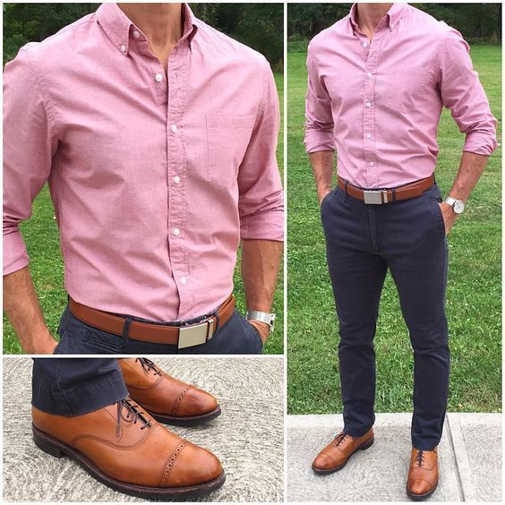 Pink Outfits for Men – 23 Ways to Rock Pink Colored Outfits – Men's Dress wear