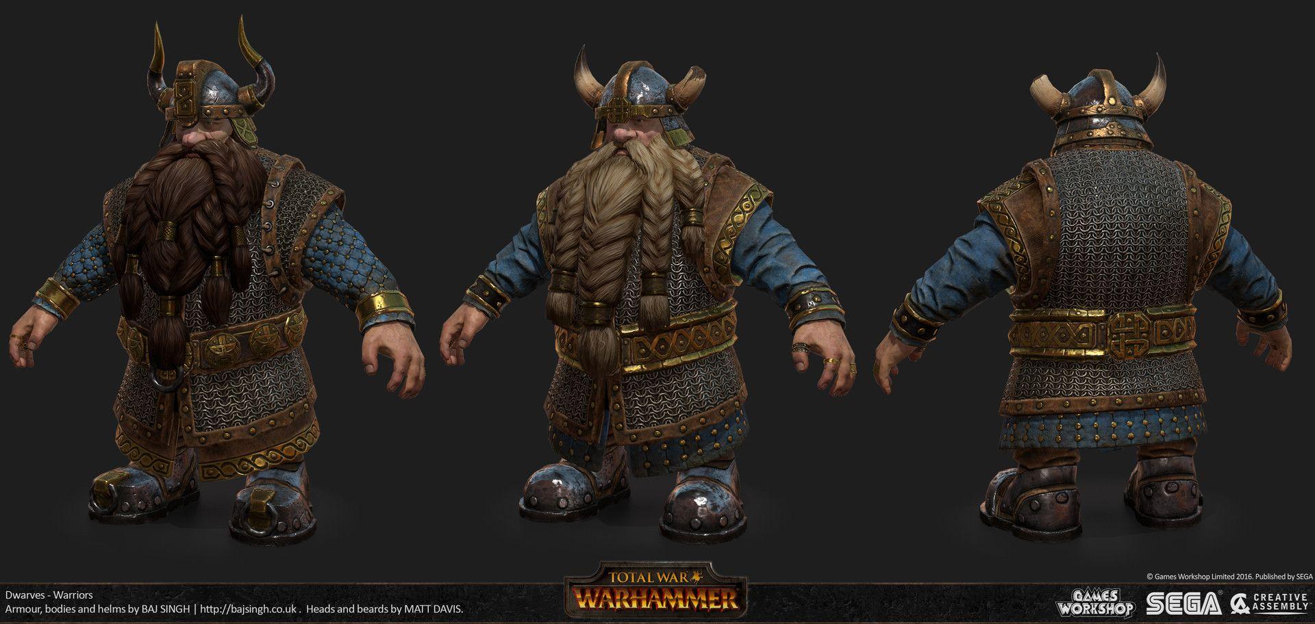 ArtStation Total War Warhammer Art Dump, In game