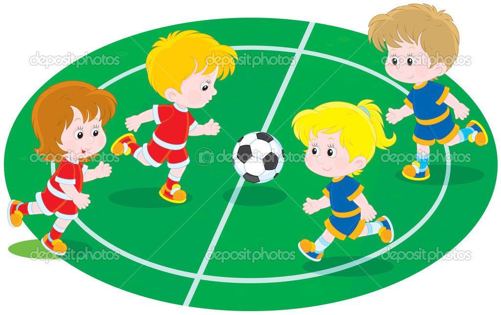 Niñas Jugando Futbol Animado - Buscar Con Google