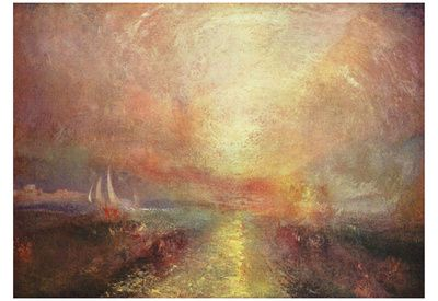 Joseph Mallord William Turner A Yacht Approaching The Arts Art