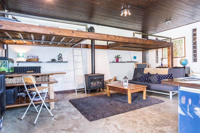 Open mezzanine | Lofts for rent, Loft apartment, Warehouse ...