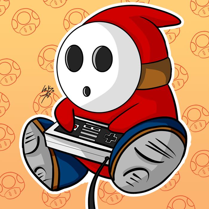 Shy Guy By Locke3k On Deviantart Shy Guy Nerd Culture Fan Art