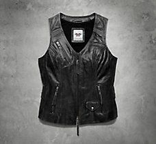 Dust Rider Leather Vest