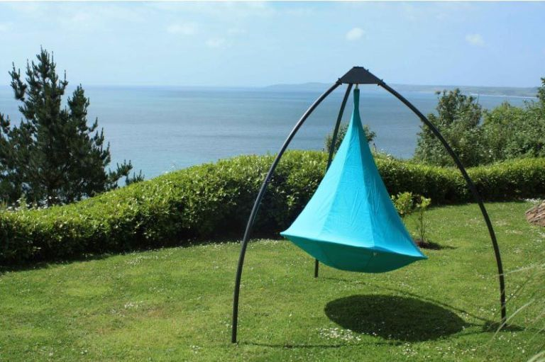 This Hanging Tent Makes C&ing Way More Fun & This Hanging Tent Makes Camping Way More Fun | Hanging tent and Tents