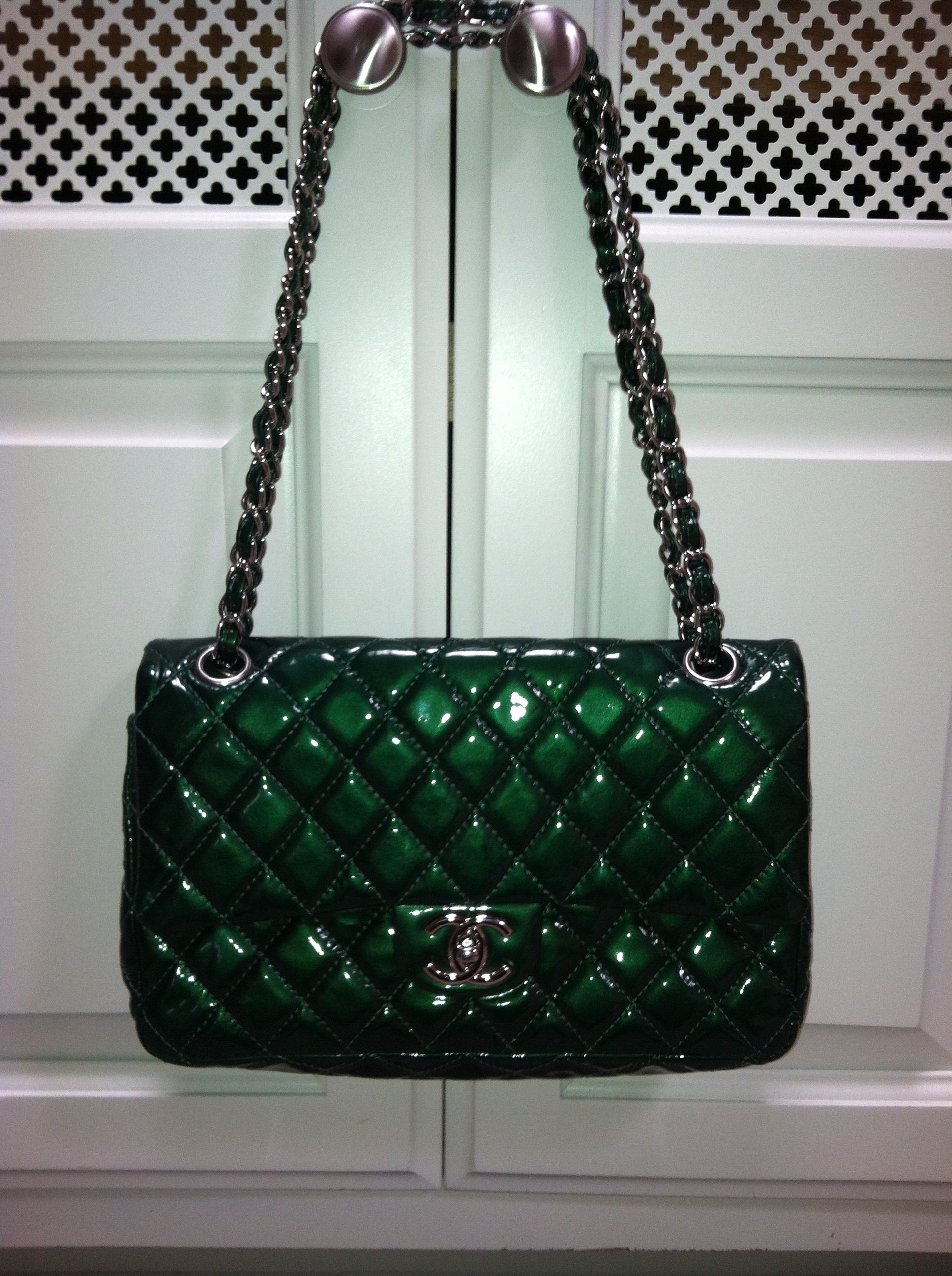 293096d0faf6 Limited Edition Chanel Bag Green Cheap Michael Kors Purses, Michael Kors  Sale, Michael Kors