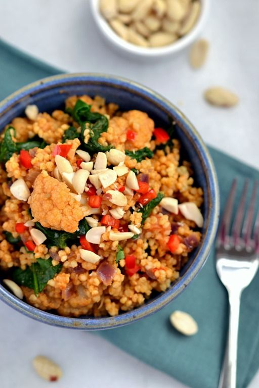 African-Inspired Peanutty Millet (GF)