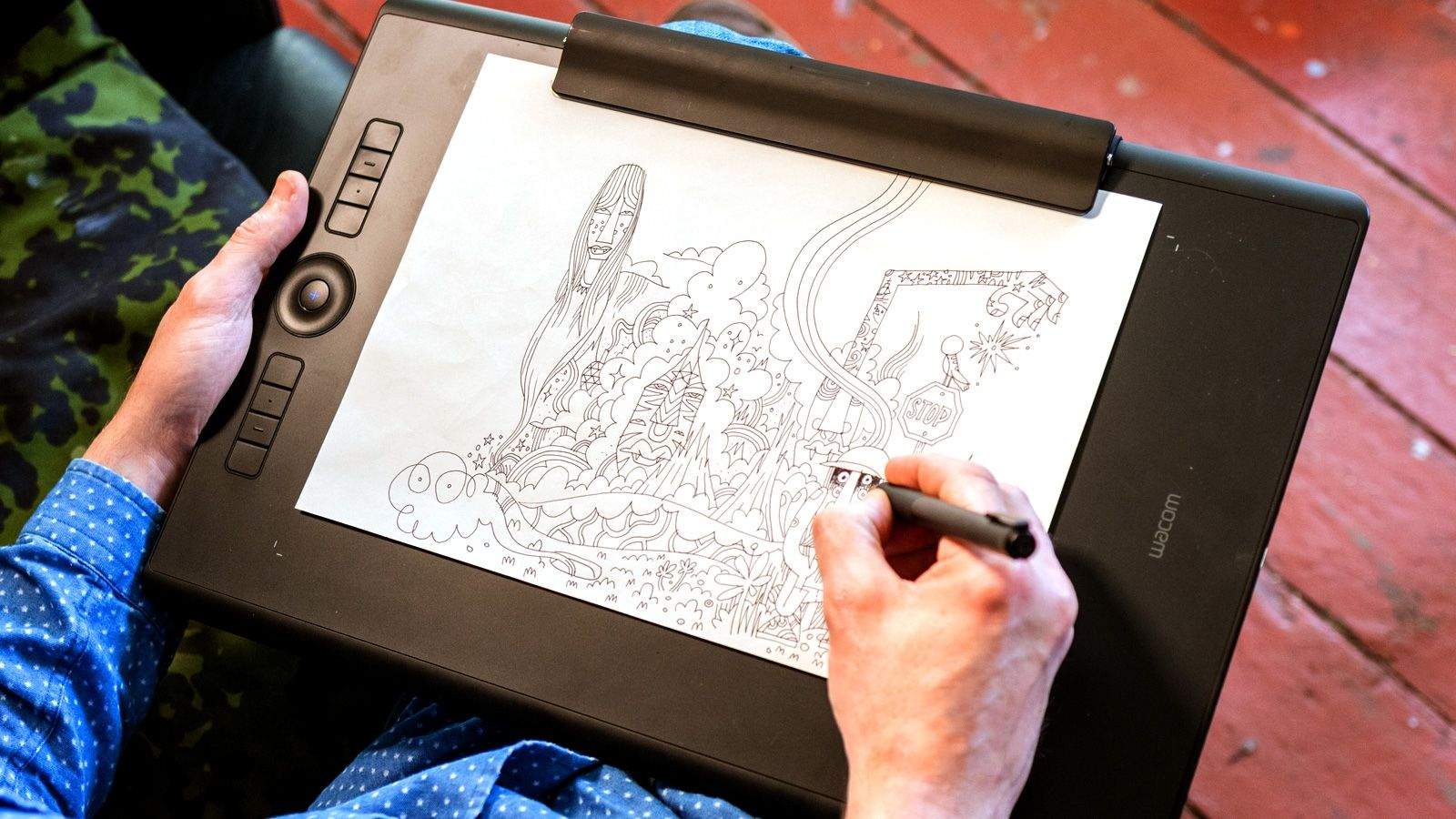 You Like To Draw On Paper And Screen With The New Wacom Intuos Bri Bang Ampamp Olufsen Beoplay H6 Premium Over Ear Headphones 2nd Gen Natural Pro Edition Tablet Can Do Both At Once