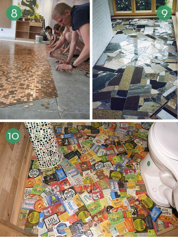 10 Easy And Inexpensive Diy Floor Finishes Diy Flooring Home