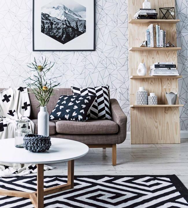 Teppiche in Schwarz-Weiß Sale bei Westwing Home inspo - wohnzimmer teppich schwarz weis