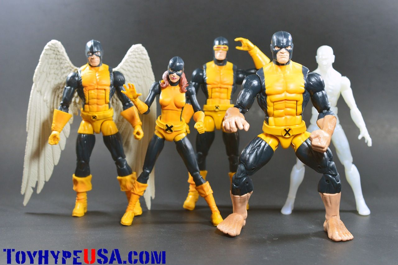 Marvel Legends Toys R Us Exclusive All New X Men Box Set Review Toy Hype Usa Marvel Legends Boxset Marvel Action Figures