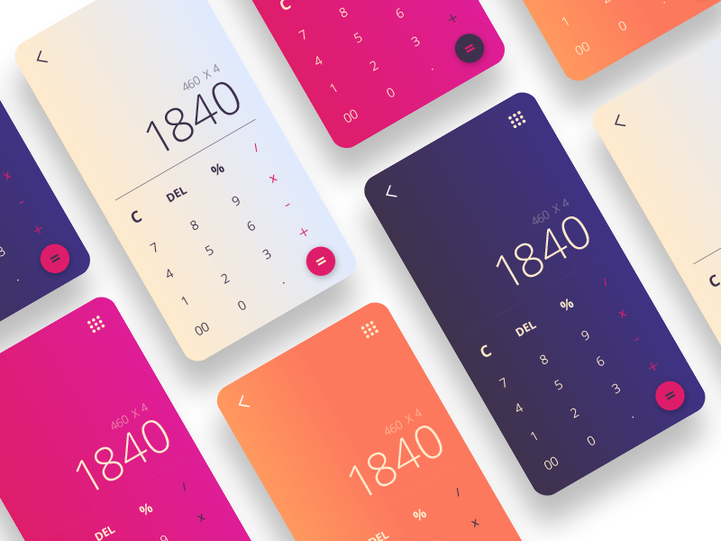 Gradient Calculator Ios App Design App Design Calculator Design