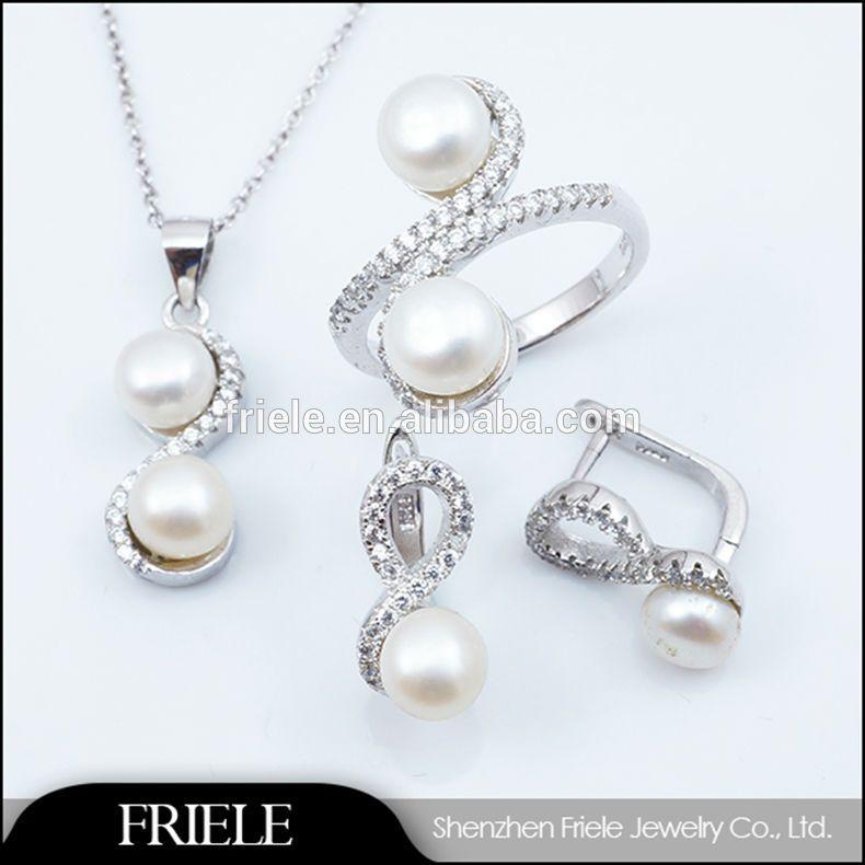 925 sterling solid silver fashion lignes bracelet boucles d/'oreilles Collier Bijoux Sets