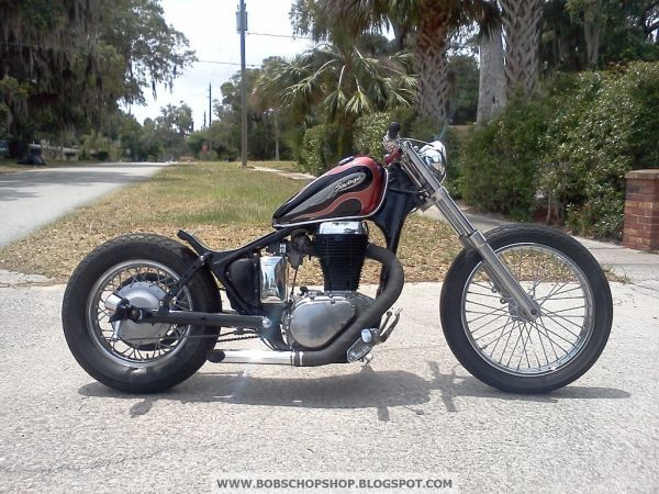 another suzuki savage s40 bobber i found with google image. Black Bedroom Furniture Sets. Home Design Ideas