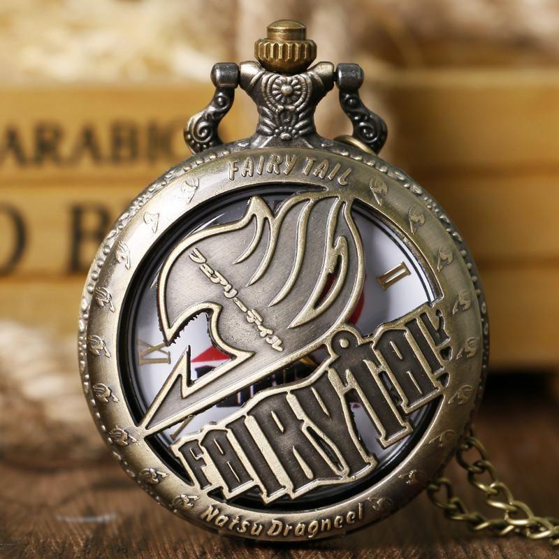 Fairy tail anime pocket watch pocket watch quartz