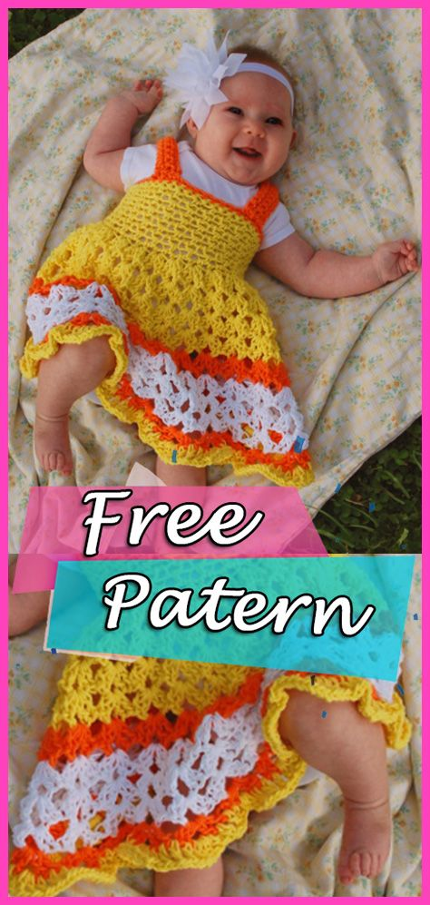 Crochet Baby Dress Sunshine And Marmalade Free Pattern Crochet