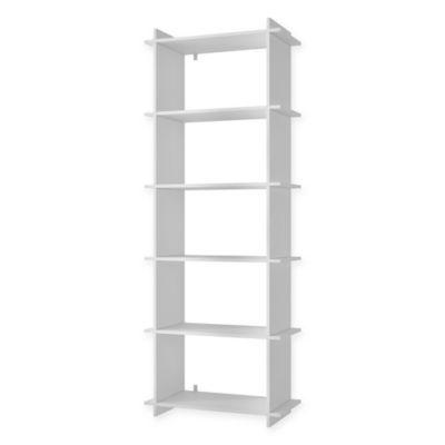 Manhattan Comfort Gisborne 2.0 Bookcase - BedBathandBeyond.com