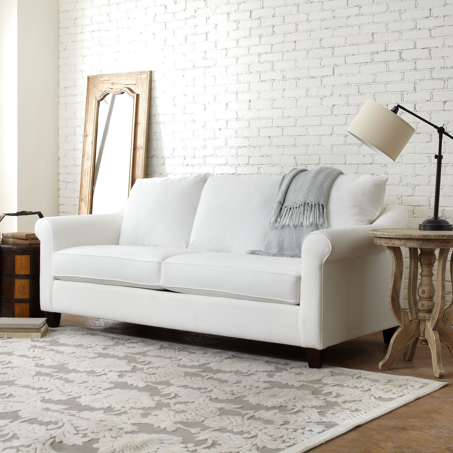 Brooke sofa a timeless silhouette constructed of kiln dried lumber the simple lines of the brooke sofa offer an easy update to every living room