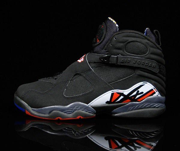 Air Jordan 8 Mocassins En Daim Rouge