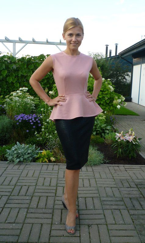The Hourglass Set | Peplum top pattern, Patterns and Sewing ideas