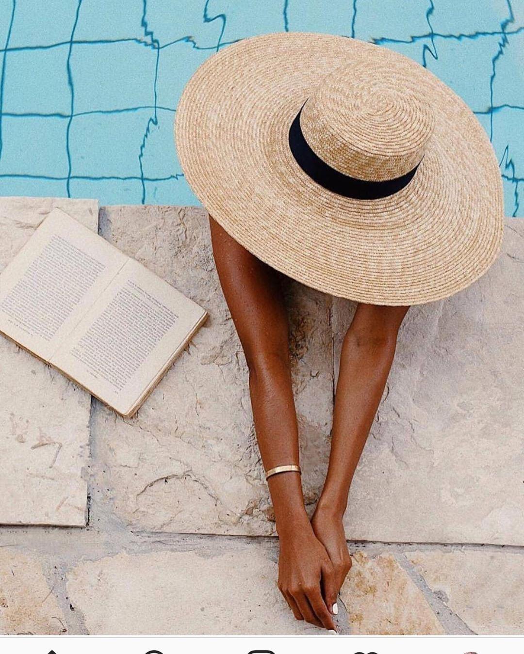 3 Approaches That Affect Women Entrepreneurship Beach Hat Poolside Fashion Summer Photos