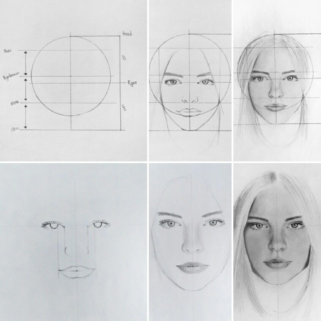 How To Draw Portraits Tips In 2020 Portrait Drawing Drawings Anime Face Drawing