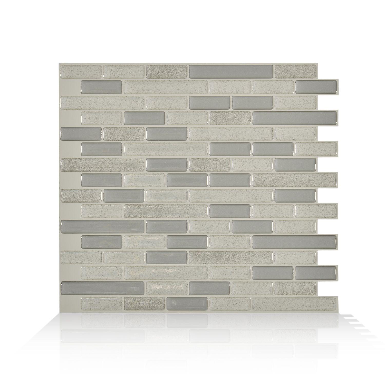 Muretto Beige Carrelage Adhesif Smart Tiles Simplement Peler Et Coller Le Produit Adherera Sans Aucun Ajout De Tuile Carrelage Mural Carrelage Mural Adhesif