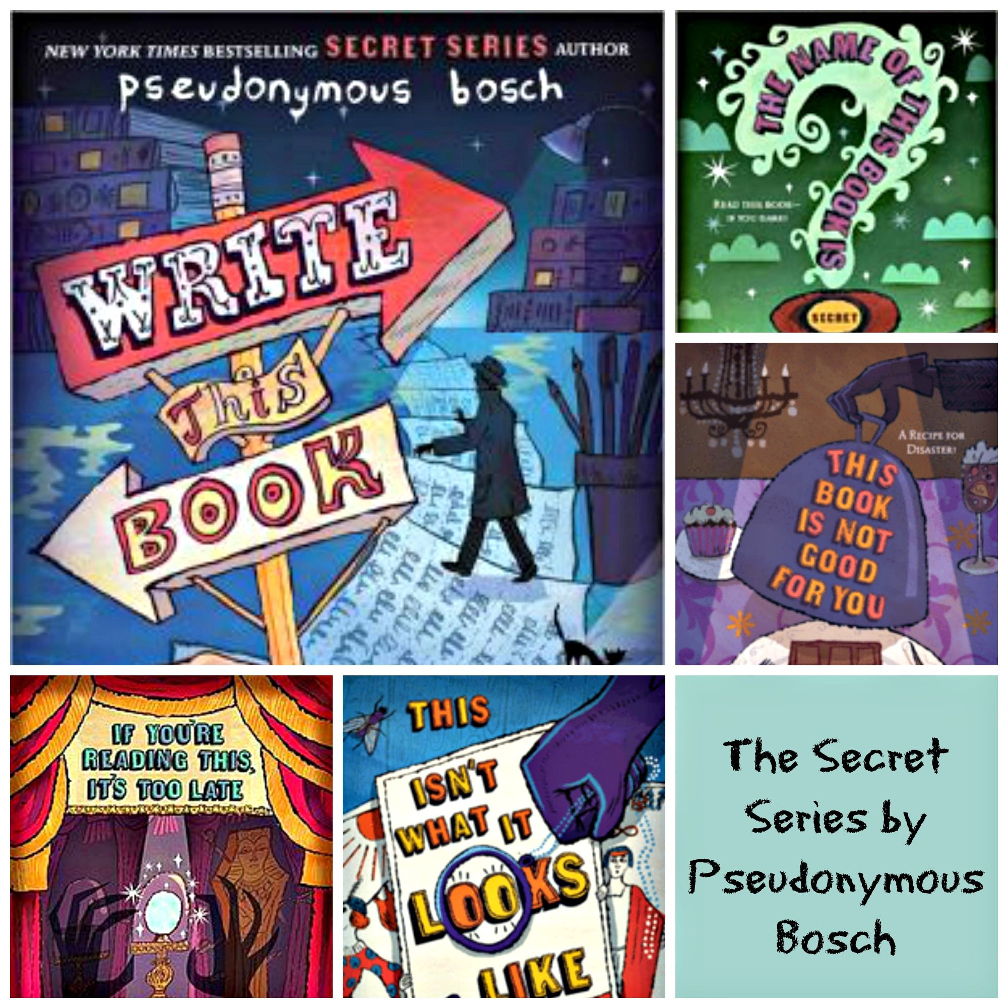 The Secret Series By Pseudonymous Bosch A Great Funny Series For