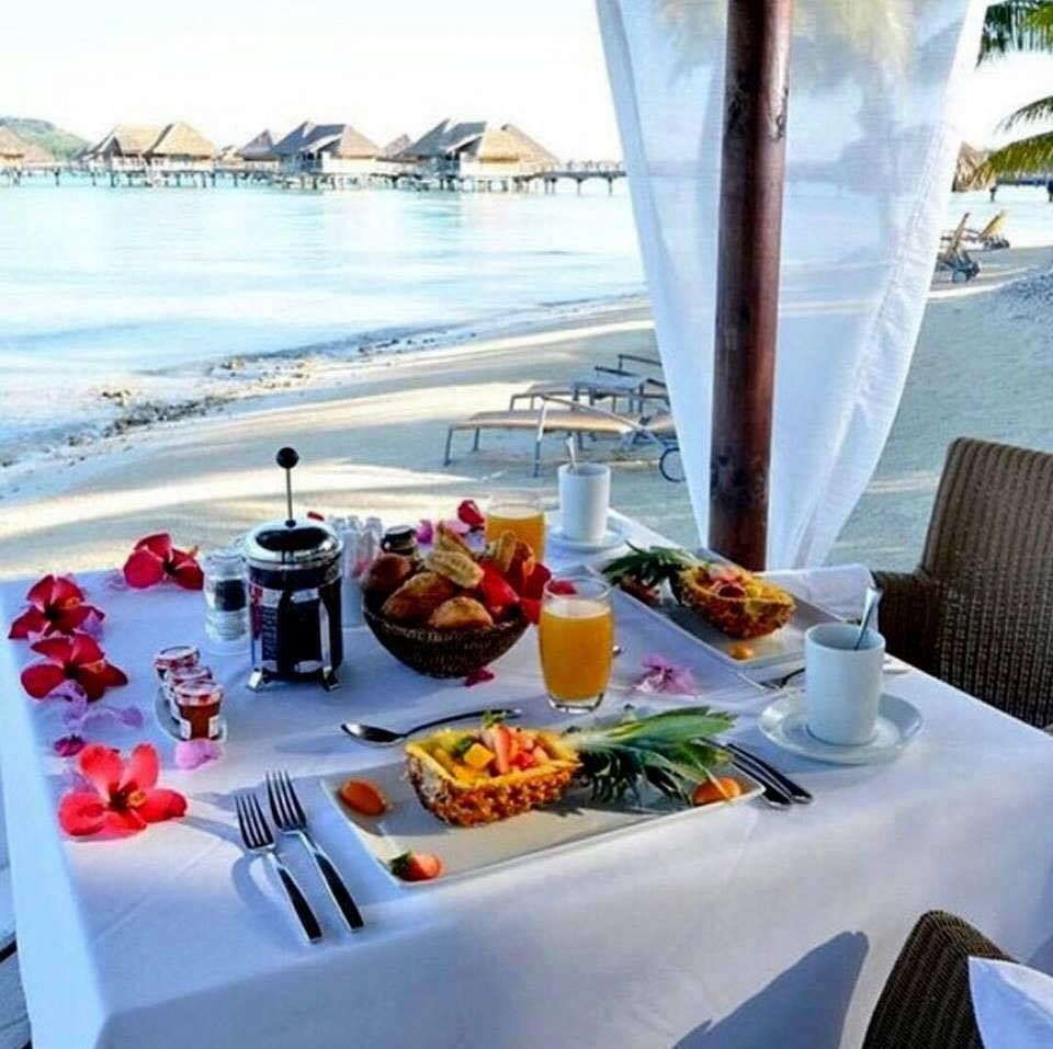 good morning sunshine breakfast in paradise beautiful places. Black Bedroom Furniture Sets. Home Design Ideas