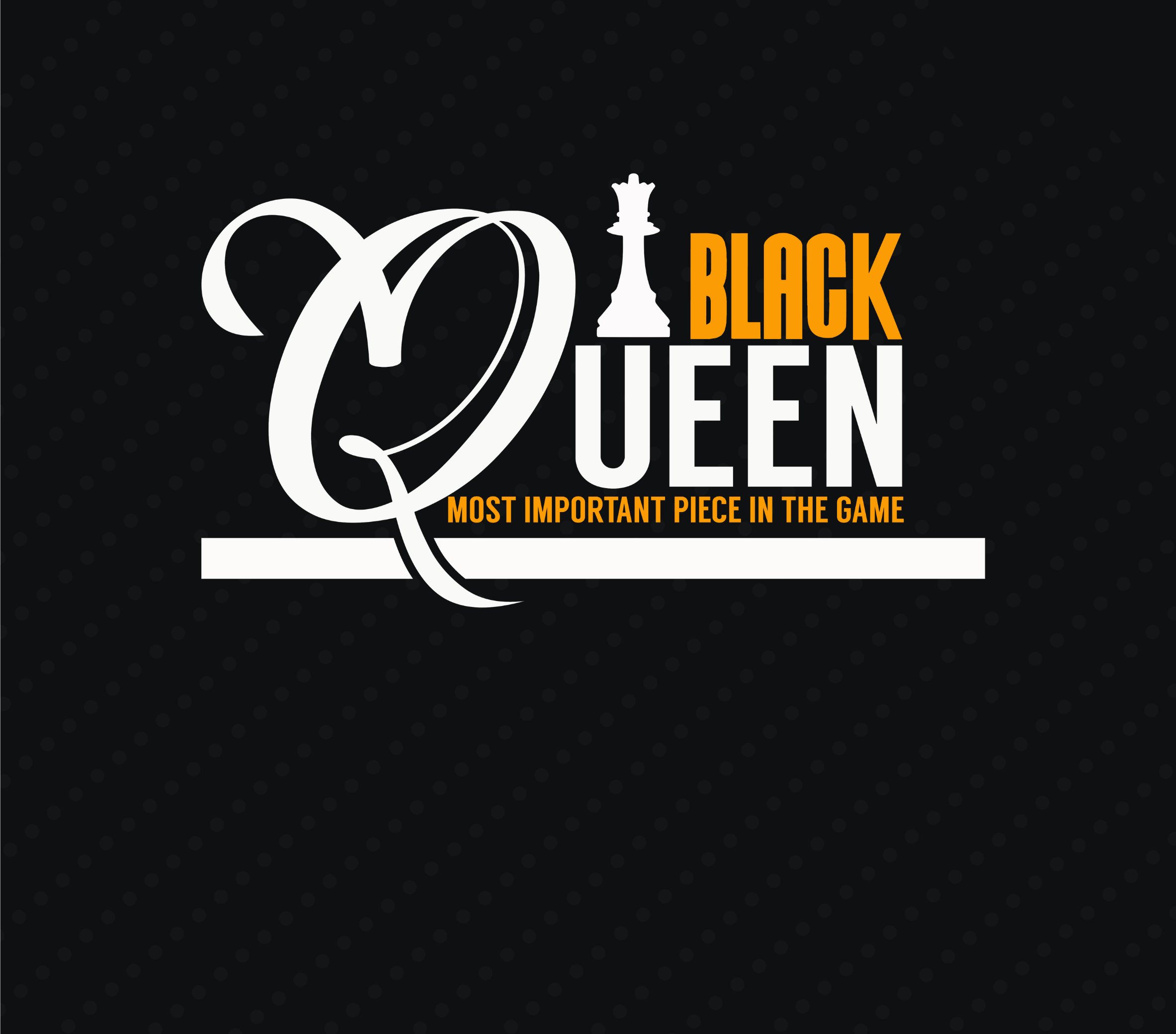 Black Queen Most Important Piece In The Game Game Of Chess Etsy Clip Art Digital Graphics Black