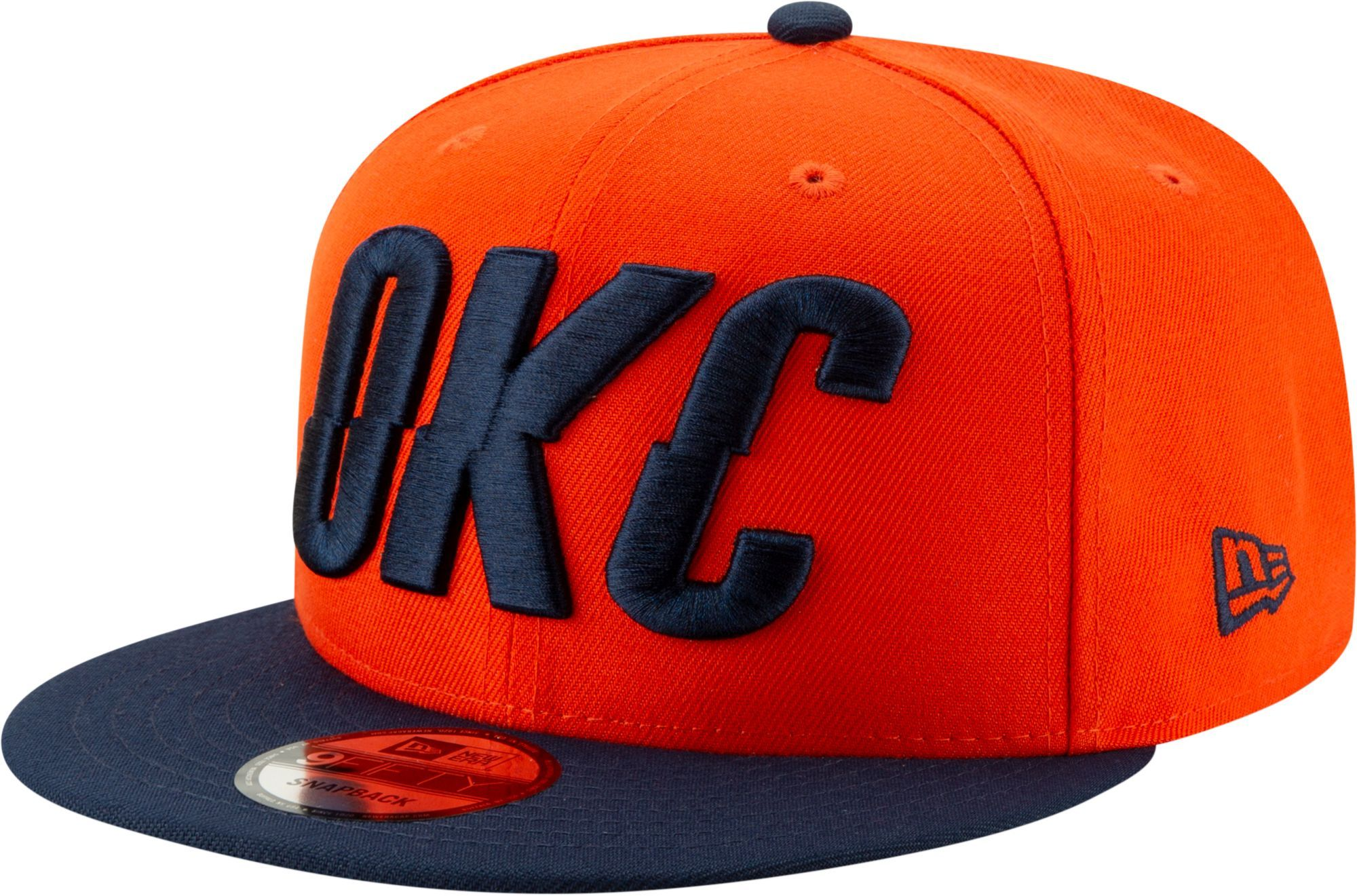 reputable site 864fd c6b2c New Era Men s Oklahoma City Thunder 9Fifty Earned Edition Adjustable  Snapback Hat