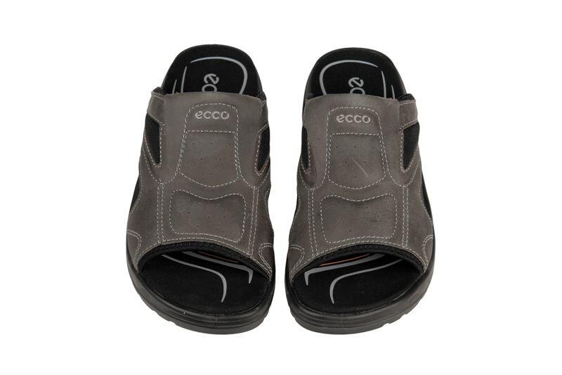 4909571489c535 Ecco Offroad Riva Pantolette warm-grey - Schuhhaus Strauch Shop