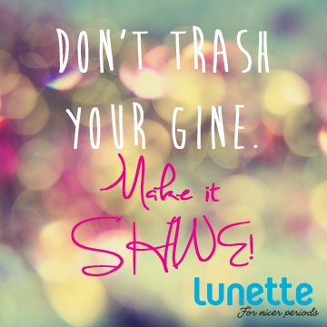 Do your vagina a favor and get a Lunette menstrual cup!
