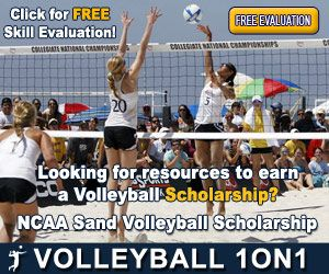Http Www Volleyball1on1 Com Free Skills Or Team Evaluation With Membership Earn A Ncaa Women S Sand Scholarship With Our Free Evalu Scholarships Skills Ncaa