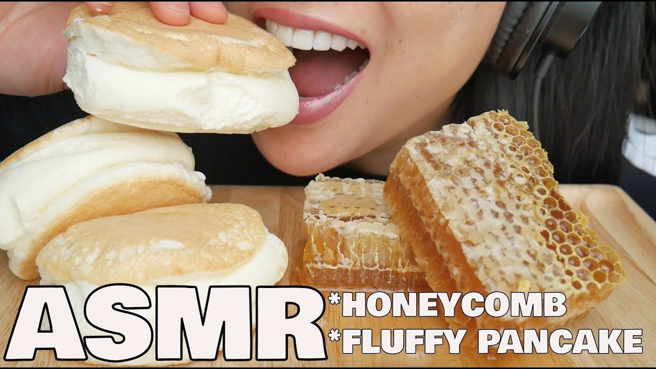 Asmr Honeycomb Fluffy Pancake Eating Sounds Sas Asmr Youtube In 2020 Asmr Fluffy Pancakes Eat • 3,5 млн просмотров 2 года назад. pinterest