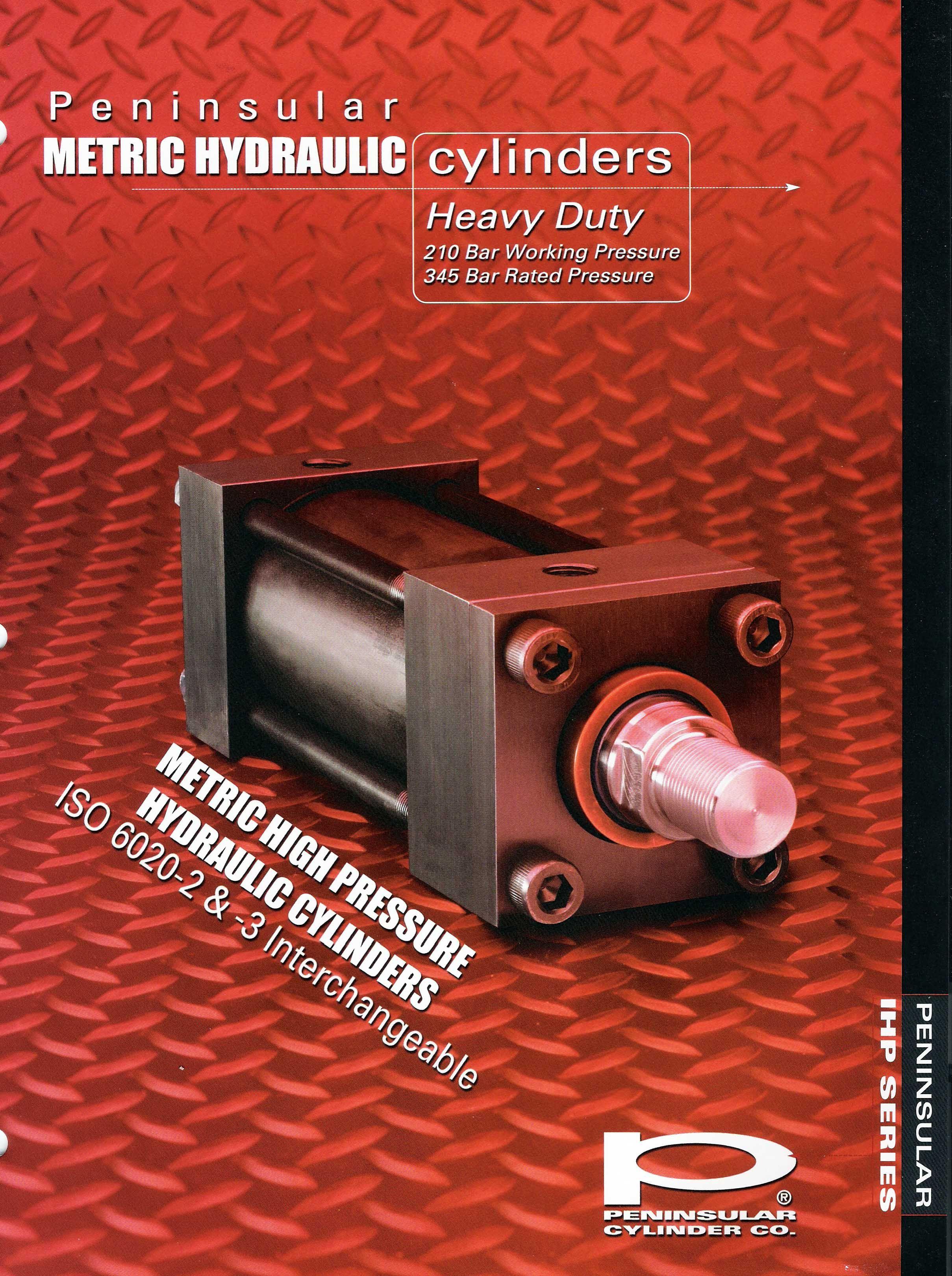 Peninsular Cylinder Company S Ihp Series Cylinder