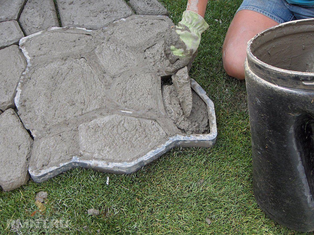 какой цемент лучше для дорожек на даче