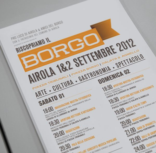 All sizes Riscopriamo Il Borgo on the Behance Network Flickr